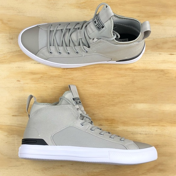 fca5ec38366a Converse Chuck Taylor All Star Ultra Mid Pale Grey
